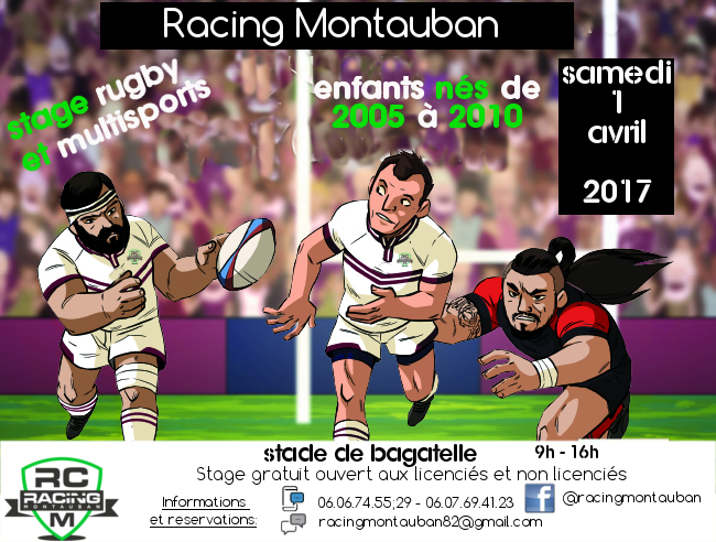 Stage rugby et multisport