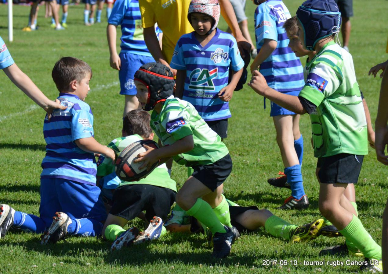 Photos U8 tournoi Cahors 10/06/2017